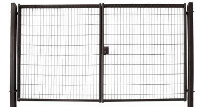 Ворота Medium New Lock 1,53х4,0 RAL 8017